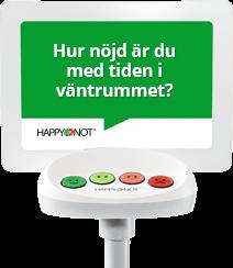 Happy-terminalen ger nöjdare patienter