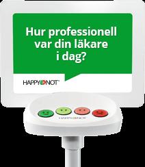 Happy-terminalen ger snabb feedback