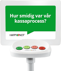 Smiley-terminalen ger nöjdare kunder