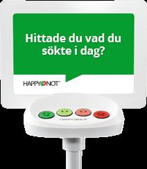Happy-terminalen ger nöjdare kunder