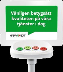 Smiley-terminalen ger snabb feedback