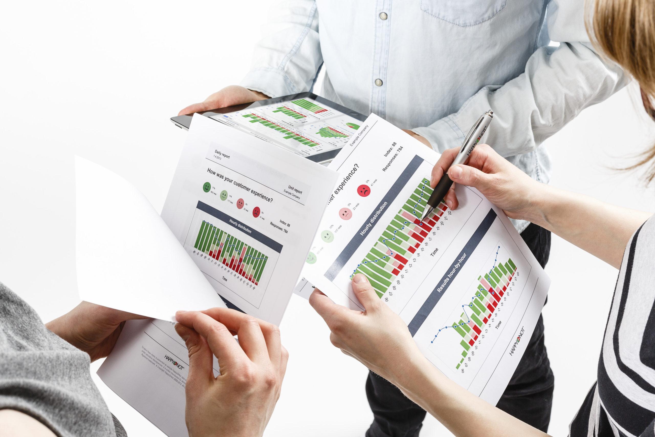 analysera och dela resultat